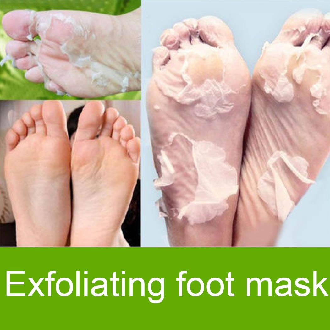 1 Pair  Foot Peeling Renewal Mask Exfoliating Mask Remove Hard Dead Skin Cuticle Heel HITC