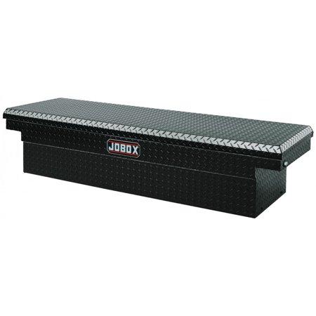 Jobox Aluminum Single Lid (JOBOX PAC1580002 Aluminum Single Lid Full-size Crossover Truck Box)