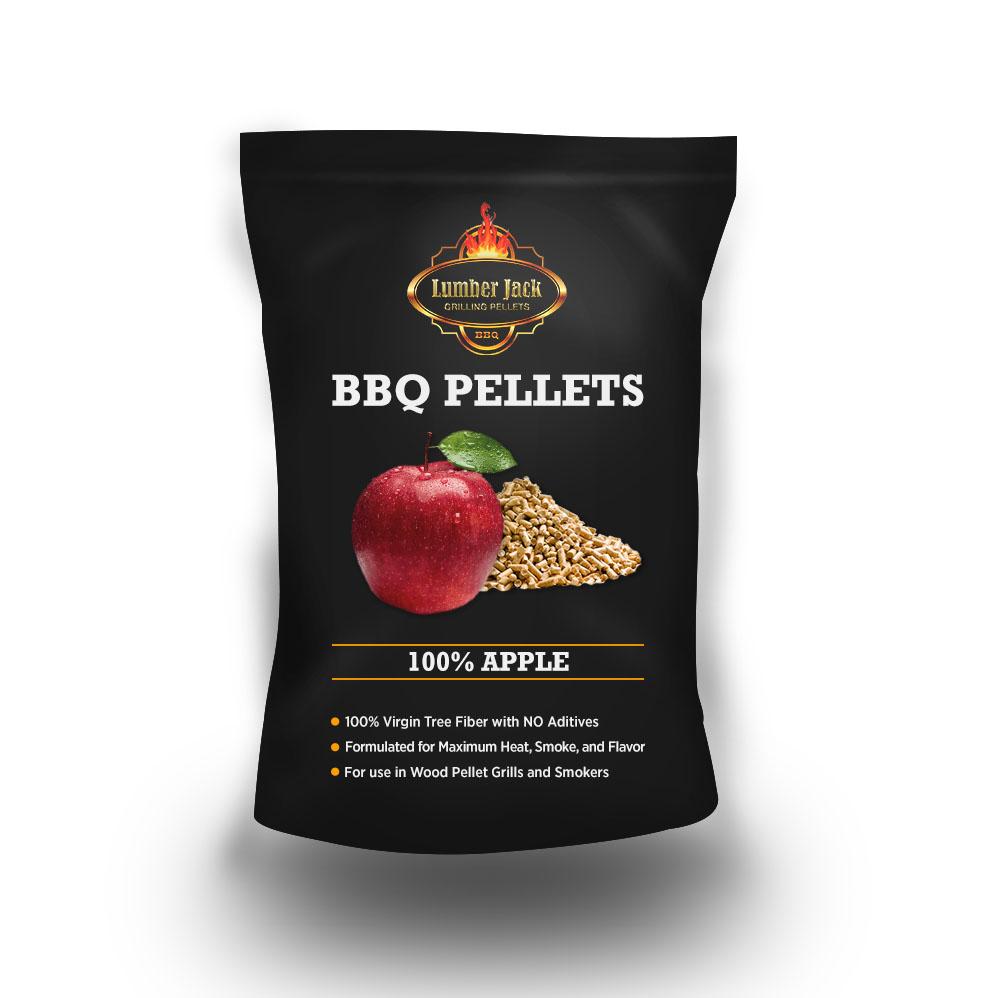 Lumber Jack 100% Apple BBQ Grilling Pellets