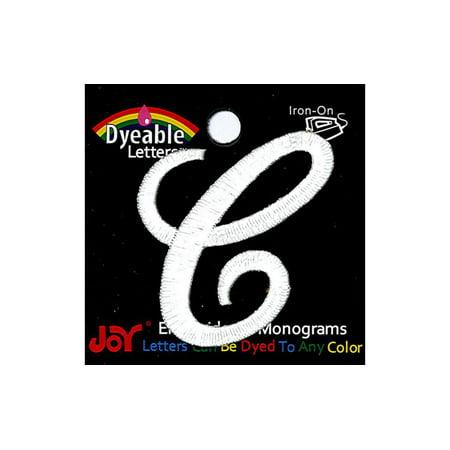 Joy Applique Letter Iron On Script Dye 1.5