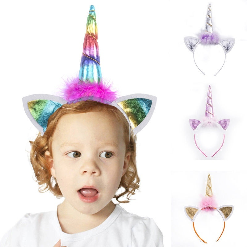 Unicorn Horn Head Band Fancy Dress Cosplay Party Brand New Still In Packaging