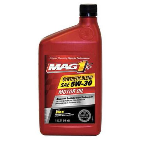 Mag 1 Mg53shp6 Synthetic Motor Oil 1 Qt 5w 30