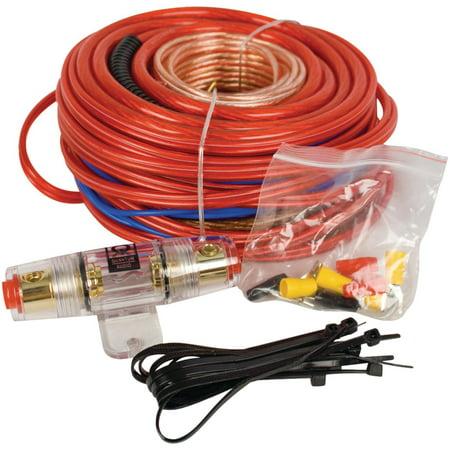 Quantum Qkq4 4 Awg Car Audio Power Amplifier Wiring Kit Walmart Com