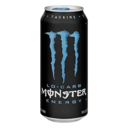 Monster Lo Carb Energy Drink  16 0 Fl Oz