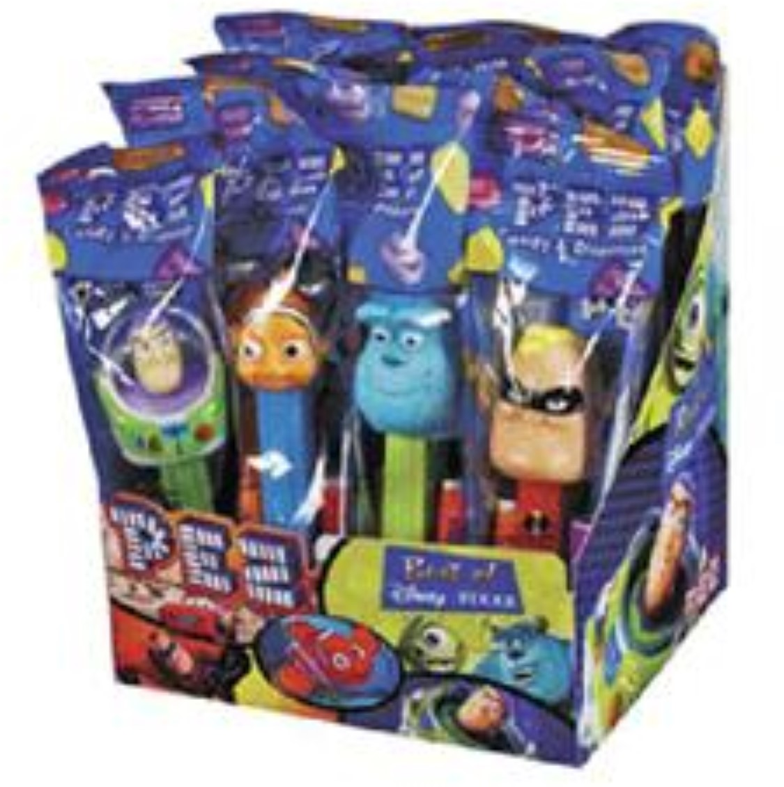 PEZ Disney Best Of Pixar Assorted 12 ea (Pack of 2)