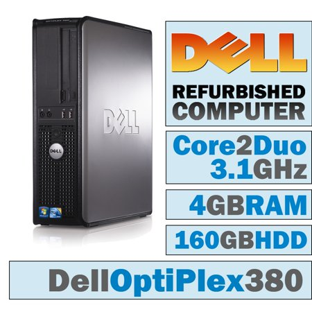 Awesome Refurbished Dell Optiplex 380 Dt Core 2 Duo E8500 3 17 Ghz 4Gb Ddr3 160Gb Hdd Dvd Rw No Os Best Image Libraries Sapebelowcountryjoecom