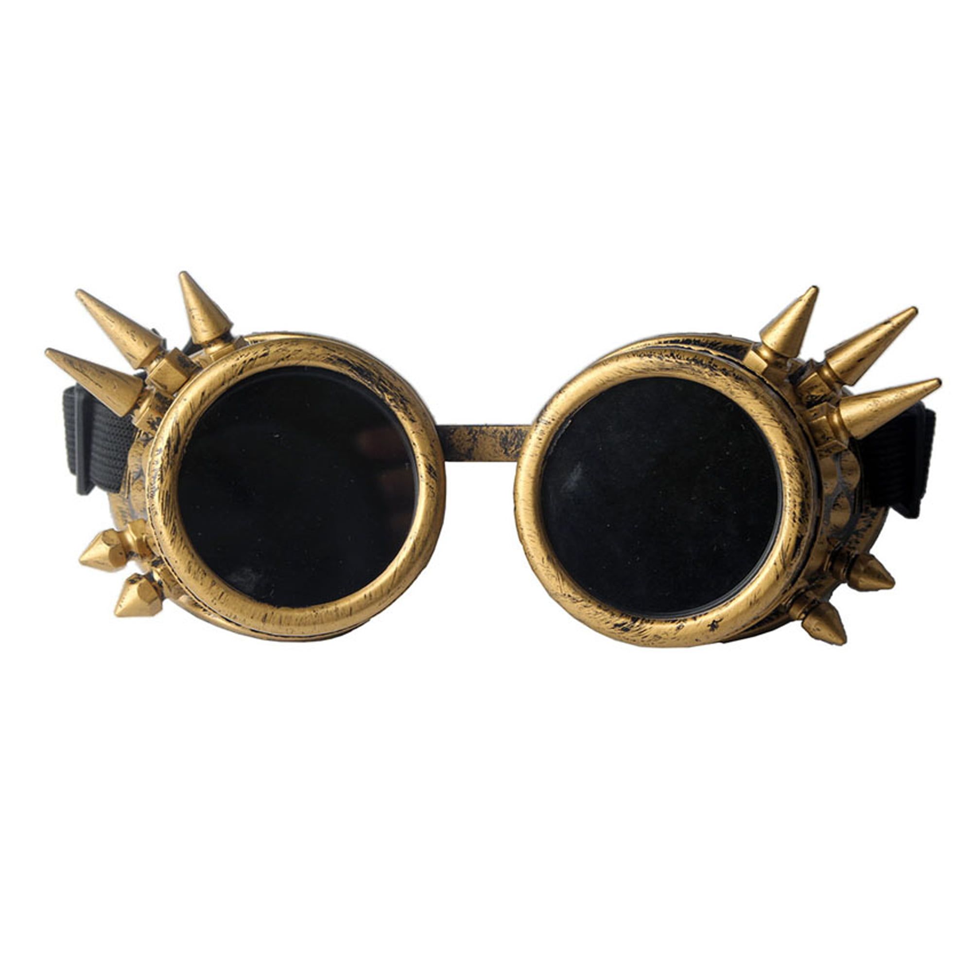 Spike Steampunk Goggles Victorian Welding Cyber Punk Gothic Costume Cosplay