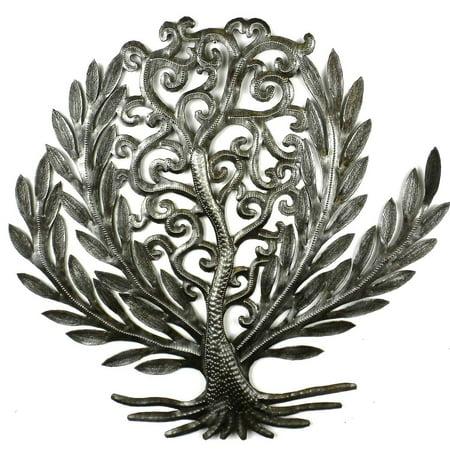 14 inch Tree of Life Laurel Leaf - Croix des Bouquets (Laurel Leaf)