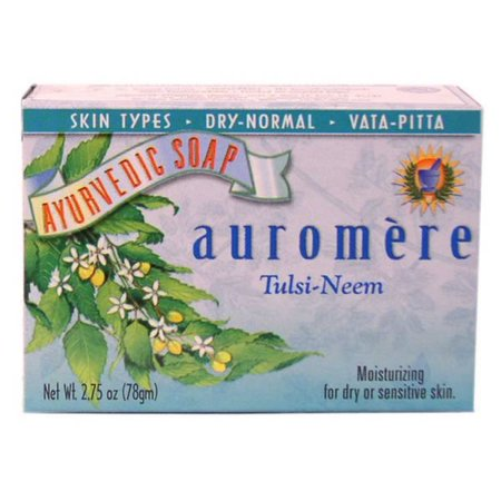Auromere Tulsi Neem Bar Soap (1x2.75 Oz) Tulsi Neem Moisturizing Formula