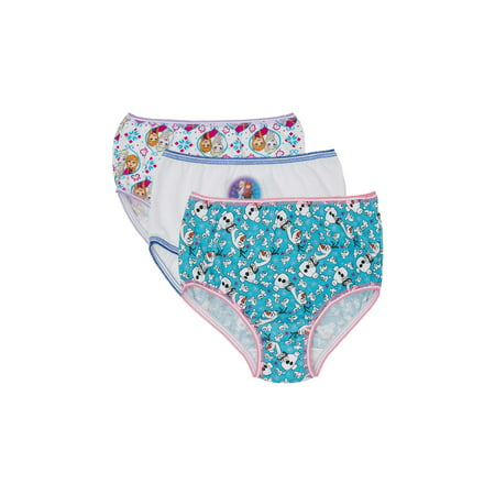 Toddler Girls Underwear, 3 Pack