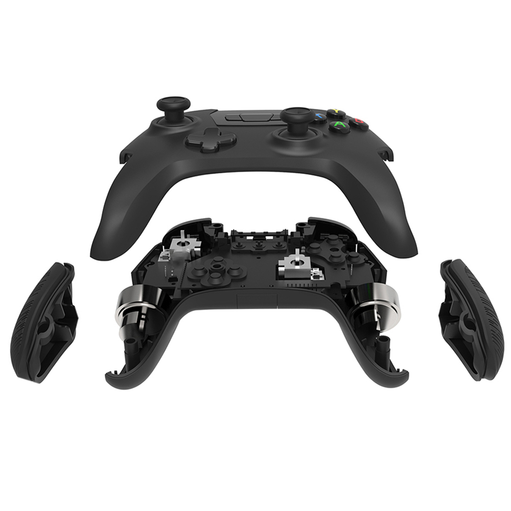 Wireless Gamepad Controller - Supports XInput DirectInput DInput Mode,  Shock Vibration Feedback for PC Windows, Android, Tablet, Steam OS, OTG USB