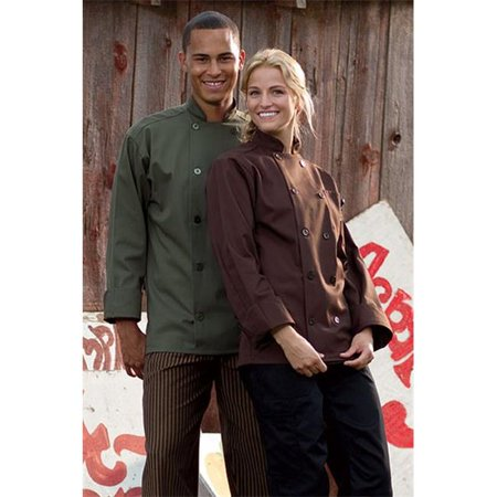 Orleans Chef Coat in Brown - XLarge - image 1 of 1