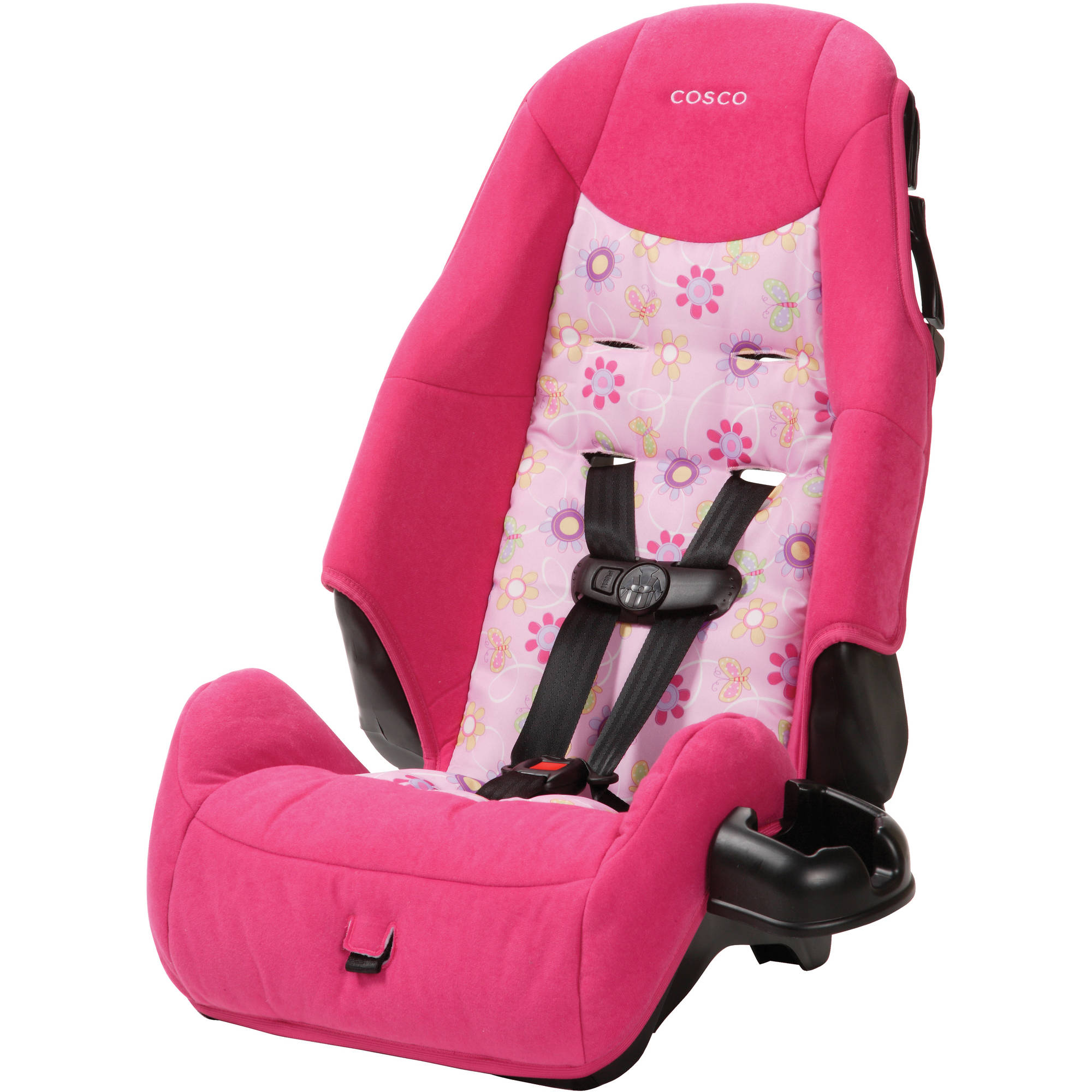 Cosco Highback Harness Booster Car Seat, Polyanna