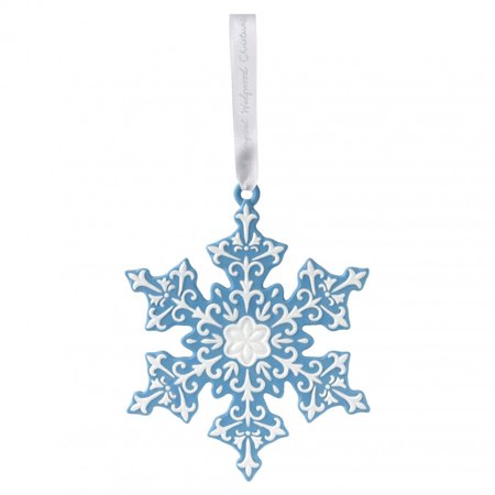 Wedgewood Figural Snowflake Porcelain Christmas Tree Ornament Decoration New - Walmart.com