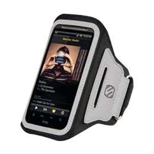 Scosche soundKASE Sport Armband for Apple iPhone (Black)