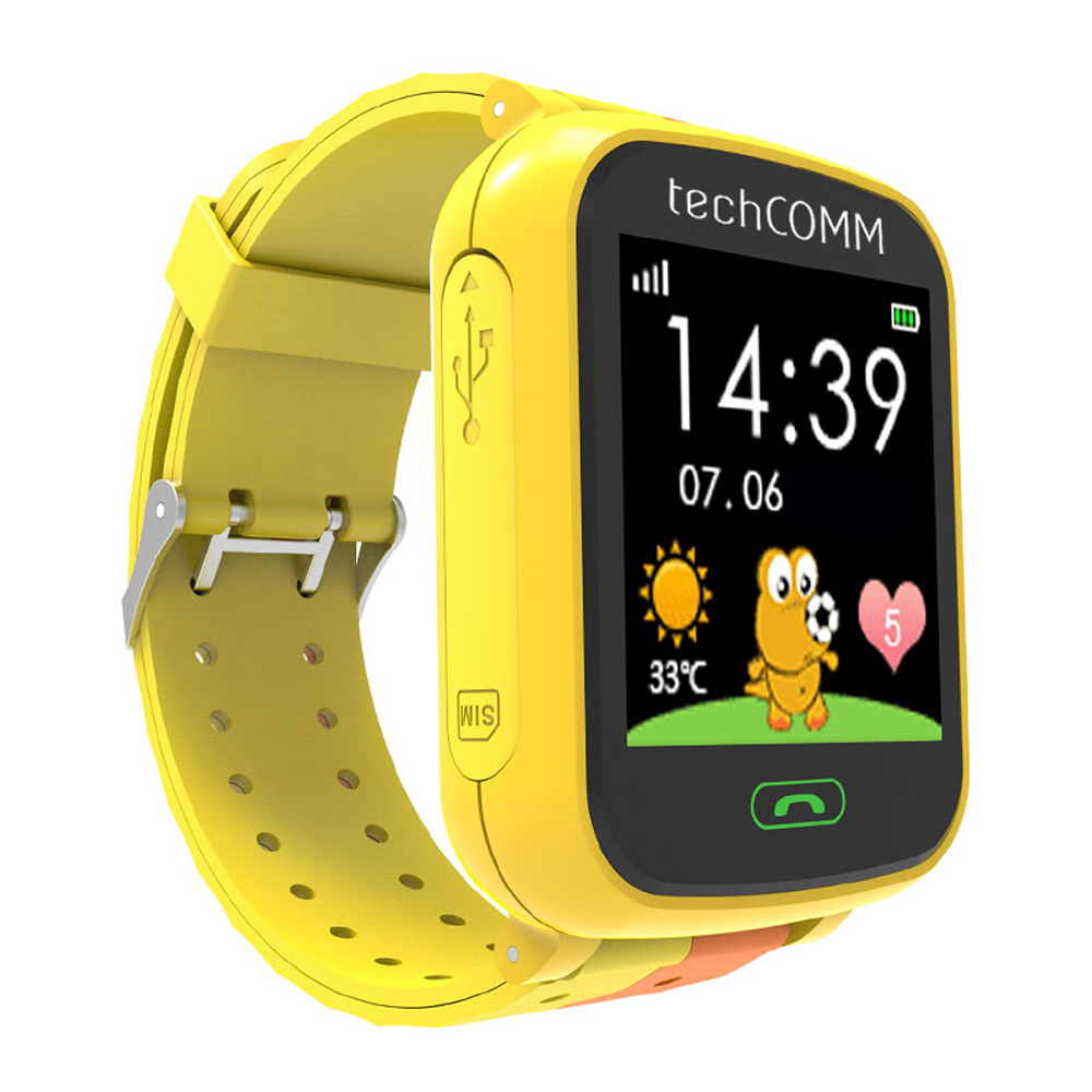 TechComm G200S Kids GPS Smart Watch for T-Mobile only