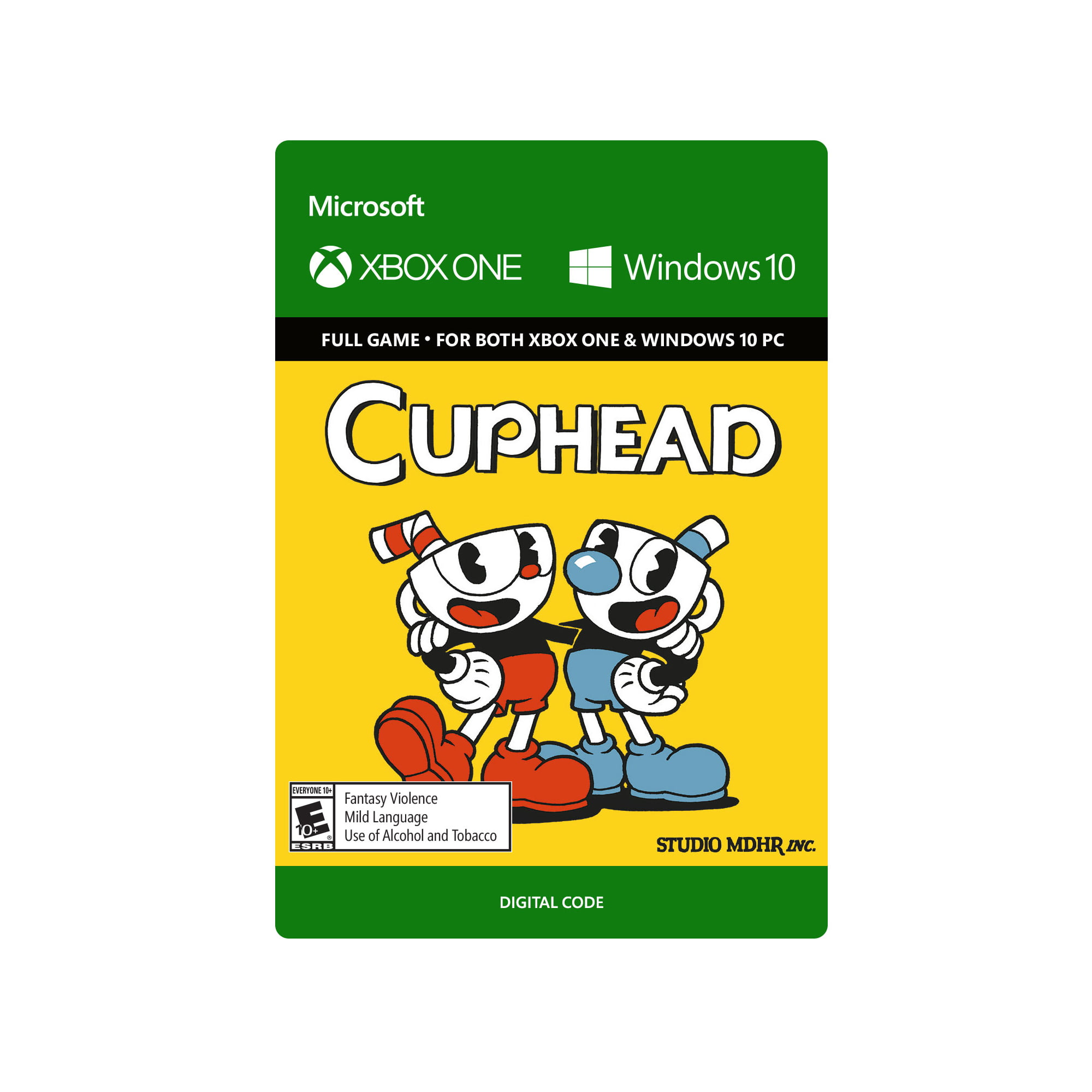 Cuphead � Xbox One and Windows 10 Digital Code by inComm