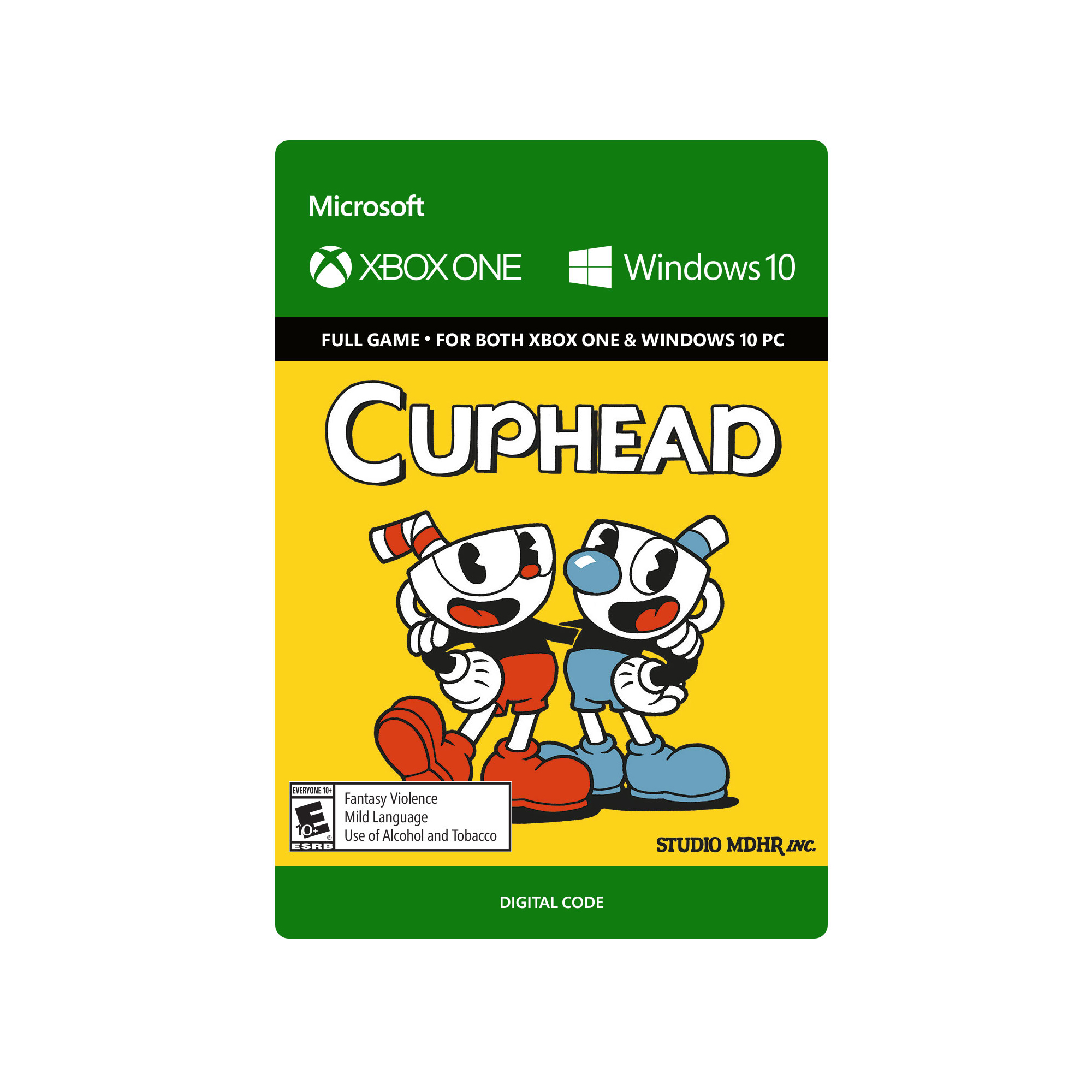 Cuphead – Xbox One and Windows 10 Digital Code