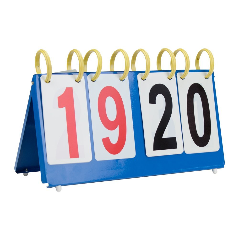 Crown Sporting Goods Portable Table Top Scoreboard