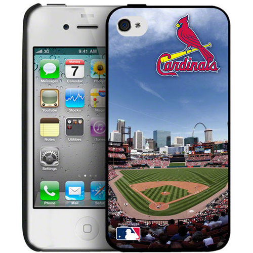 Iphone 4/4S Hard Cover Case - St. Louis Cardinals Saint Louis Cardinals PANGBBSTLIP4BP