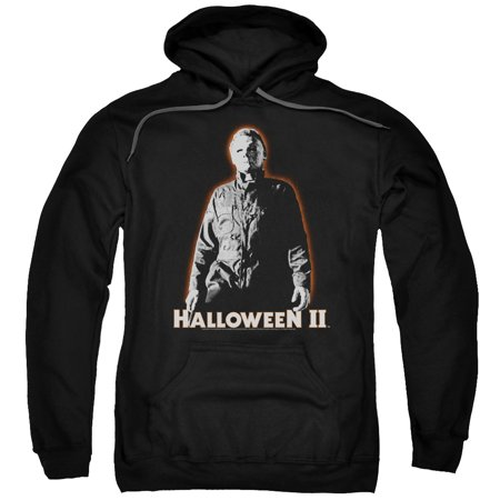 Halloween Ii Michael Myers   Adult Pull Over Hoodie   Black   Md