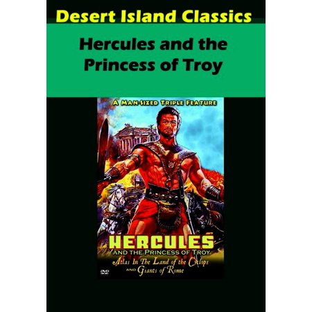 Hercules and the Princess of troy (DVD) - Desert Princess