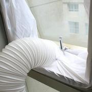 AirLock Window Seal for Mobile Air-Conditioning Units Mobile Air Conditioning Soft Sealing Baffle Window Door Seal Cloth