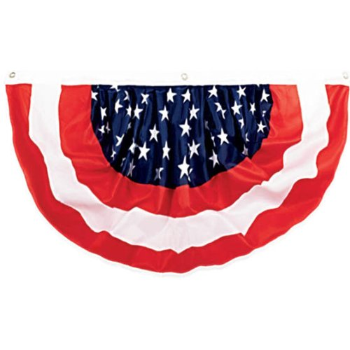 STARS & STRIPES FOURTH OF JULY PARTY BUNTING BANNER DECORATION