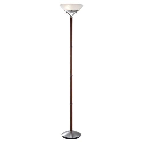Adesso Gotham 3370 Floor Lamp - Walnut