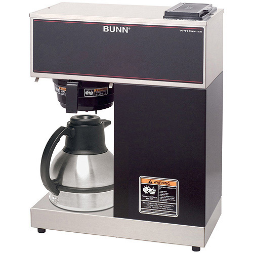 BUNN VPR TC, 12-Cup Commercial Thermal Coffee Brewer, 33200.0011