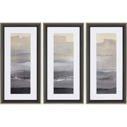 Paragon Abstract Contemporary In the Distance Pack of 3 Wall Art 1802