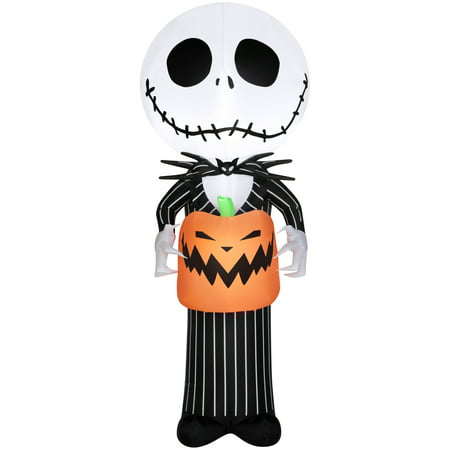 Airblown Inflatables The Nightmare Before Christmas Stylized Jack Skellington, 5'