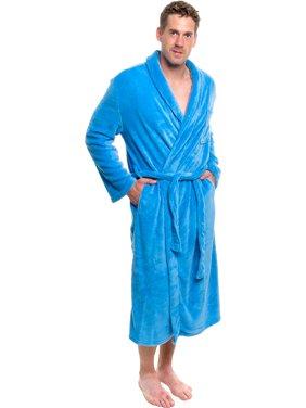 53bc3e83ca Product Image ROSS MICHAELS NEW Mens Light Blue Plush Shawl Collar Kimono  Bath Robe (XXL)