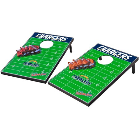 - Wild Sports NFL San Diego Chargers 2x3 Field Tailgate Toss