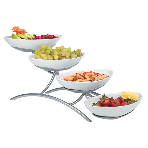 Cal-Mil 4 Bowl Display Stand by