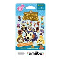 amiibo cards 6-pack Animal Crossing  - Series 3