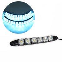 Car Daytime Running Lights Automobile Flexible LED Strip Turn Signal Fog Lamps;Car Daytime Running Light Automobile LED Strip Turn Signal Light
