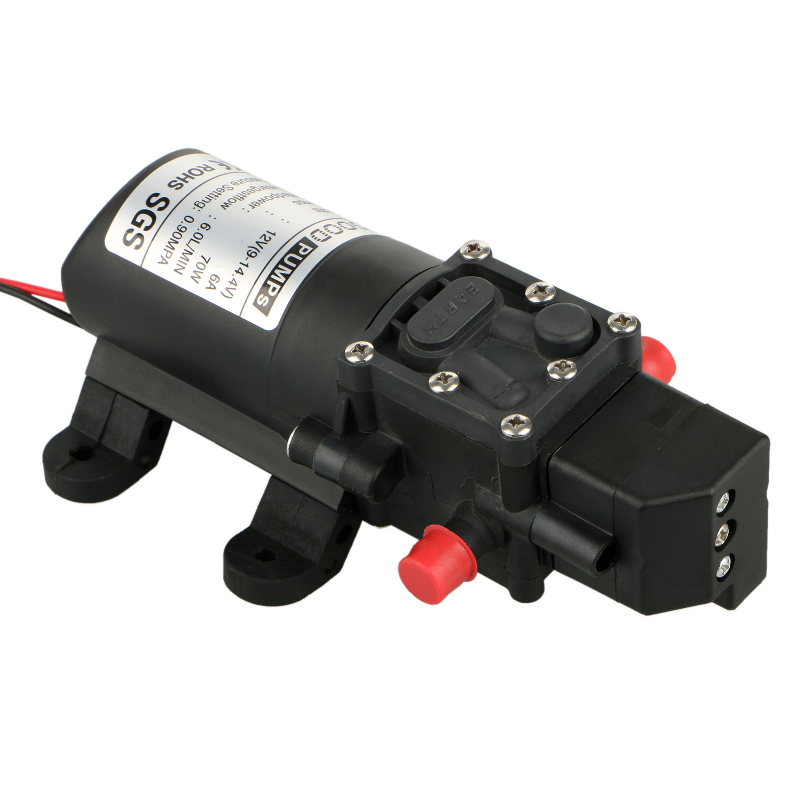 Diaphragm High Pressure Self Priming Agricultural Electric Sprayer Water Pump A