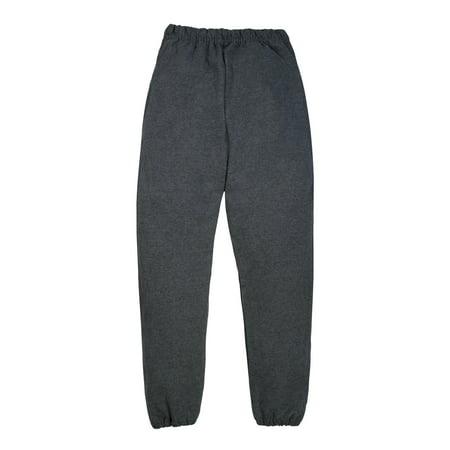 Jerzees Mid-Weight Fleece Elastic Bottom Sweatpants (Little Boys & Big Boys) ()