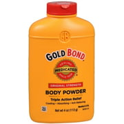 Gold Bond Body Powder Medicated 4 oz (Pack of 2)