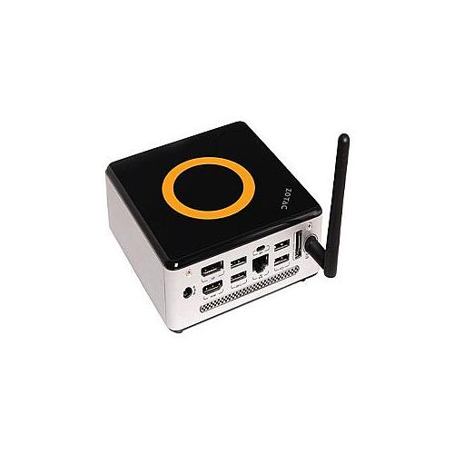ZOTAC ZBOX nano VD01 - Barebone - mini PC - VIA VX900H - 1 x Nano X2 U4025 / 1.2 GHz - Chrome9 HCM - GigE - WLAN : 802.1