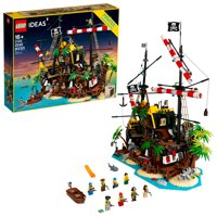 LEGO Ideas Pirates of Barracuda Bay 21322 Pirate Shipwreck Model Building Kit for Play and Display (2,545 Pieces)