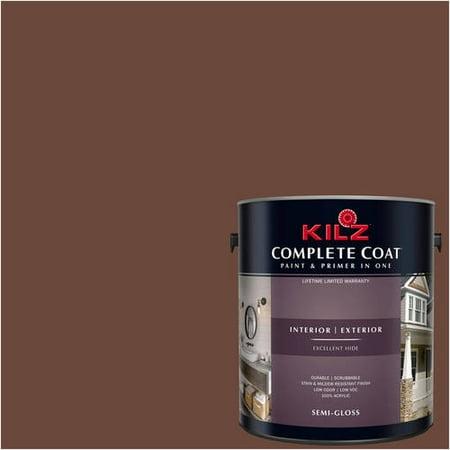 Ancient Spice, KILZ COMPLETE COAT Interior/Exterior Paint & Primer in One,