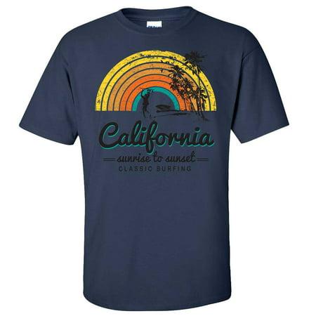 e175e9994c California Classic Sunrise Surfing Asst Colors T-shirt/tee