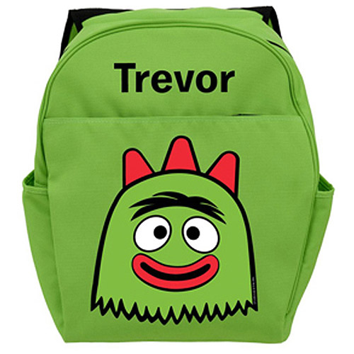 Personalized Yo Gabba Gabba! Brobee Head Backpack
