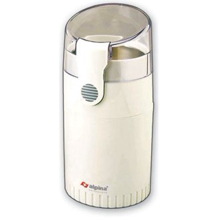 Alpina SF-2811 Electric Coffee/Spice/Nut Grinder for 220/240 Volt Countries (Not for USA), White