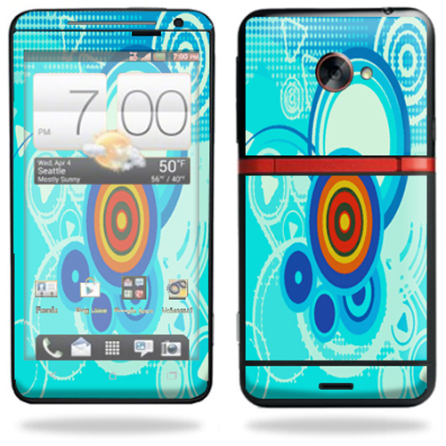 Mightyskins Protective Vinyl Skin Decal Cover for HTC Evo 4G LTE Sprint Cell Phone wrap sticker skins Modern Retro