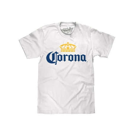 Tee Luv Corona Beer Logo T-Shirt (White)