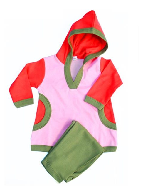Loralin Design DL2 Girl Tunic Outfit  2T