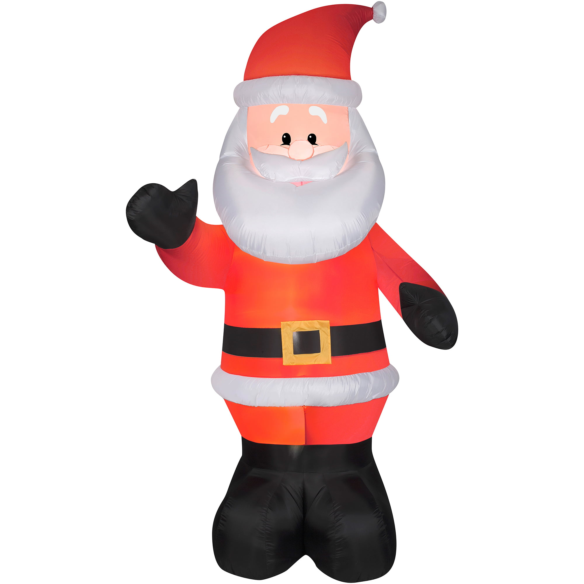 Airblown Inflatable 10' Giant Santa Christmas Prop - Walmart.com
